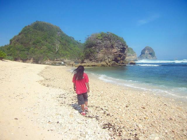 Pantai Malang Whiempy Referensi Raya Kaliapus Kab