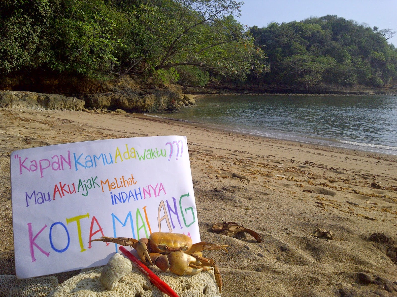 Ferdy Waterfall Pantai Bantol Modangan Kab Malang