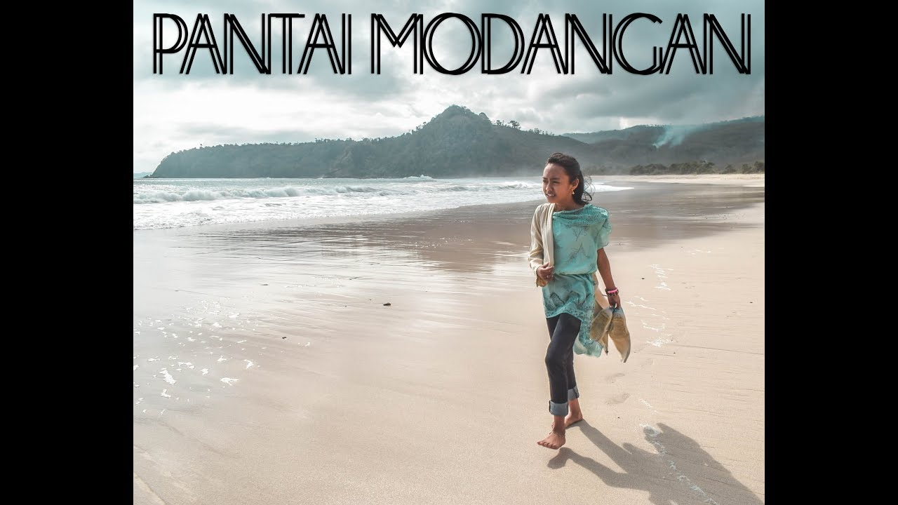 Pantai Tersembunyi Modangan Malang Jawa Timur Youtube Kab