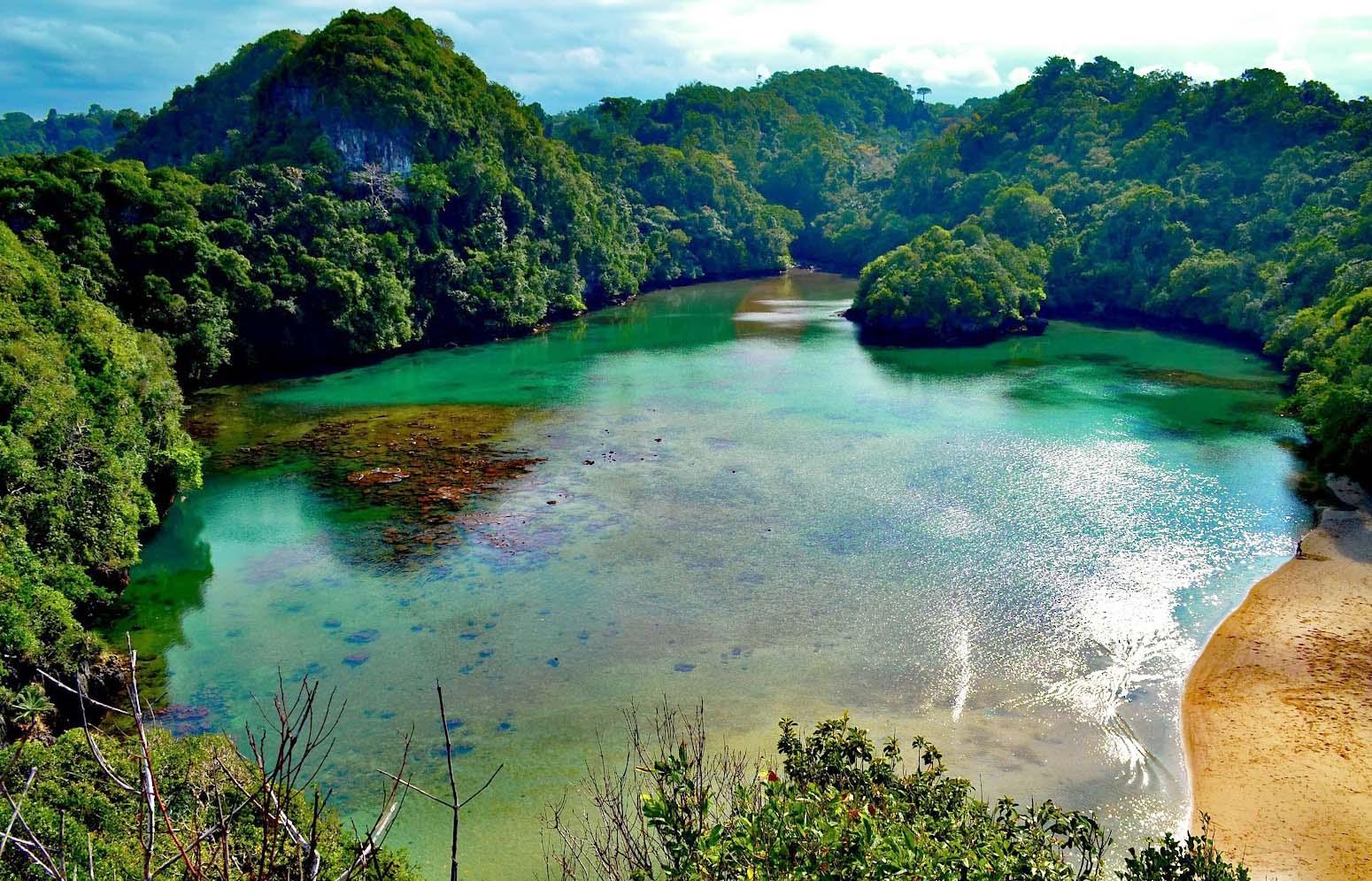 Wisata Pantai Malang Friszee Blog Pulau Sempu Terletak Sebelah Selatan