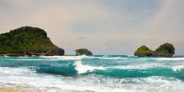 40 Lebih Wisata Pantai Malang Kamu Kunjungi Janganlupabahagia Selok Banyu