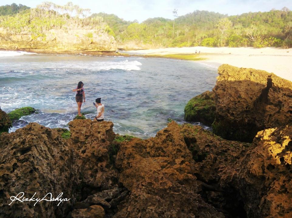Exploremalang Kondang Merak Banyu Meneng Selok Jalan Penampakan Pantai Kab