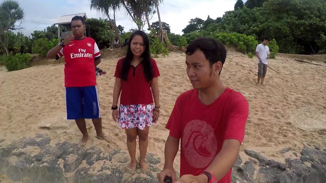 Nge Beach Pantai Selok Banyu Meneng Malang 29 Januari 2017
