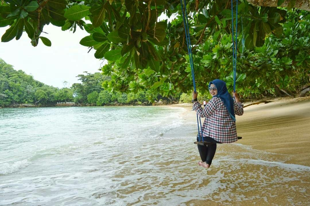 Pantai Banyu Meneng Bantur Malang Hits Pinterest Selok Kab