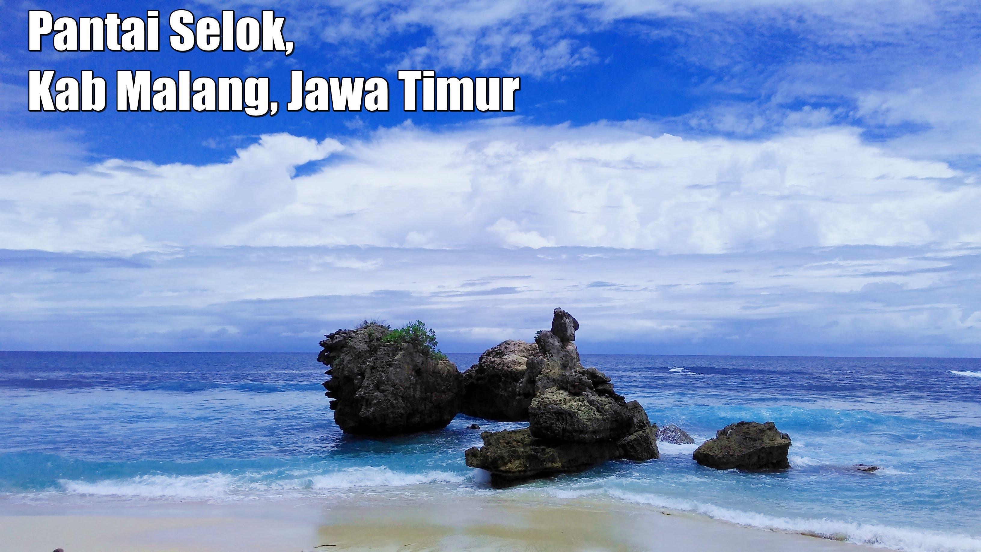 Pantai Selok Banyu Meneng Malang Selatan Jawa Timur Youtube Kab
