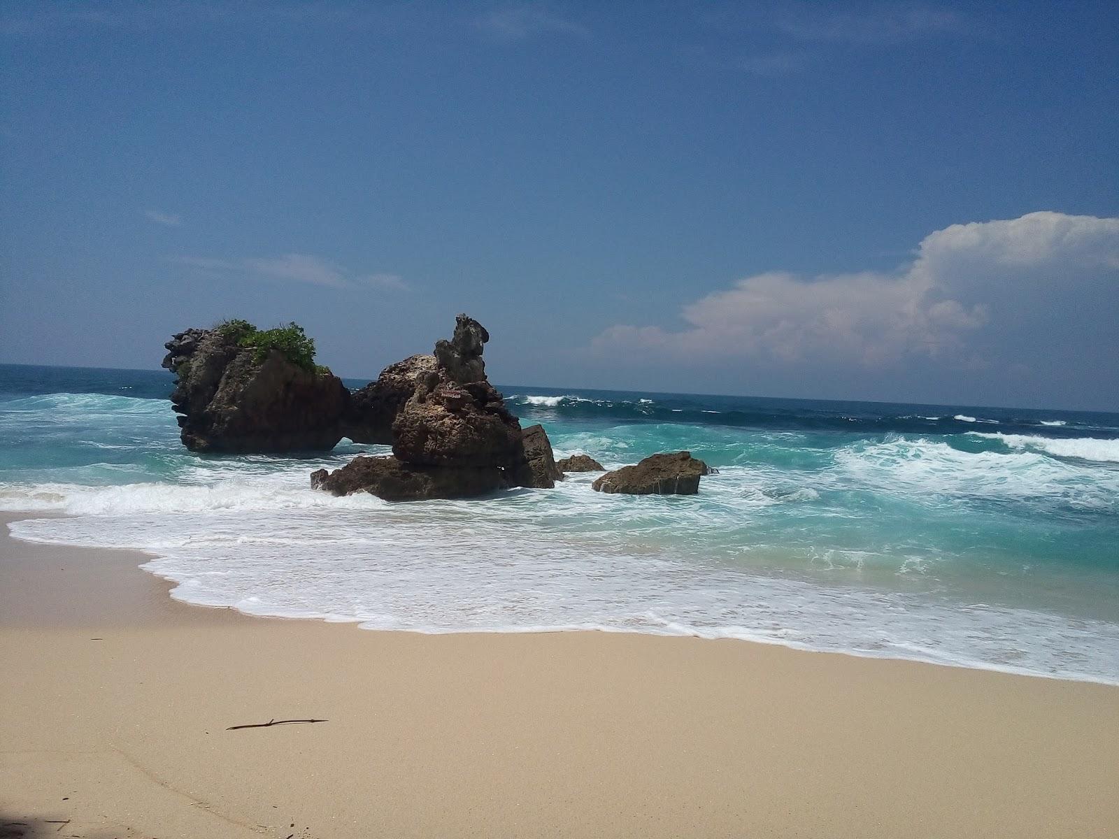 Pantai Selok Sepi Elok Esok Hari Nanti Berada Kawasan Malang