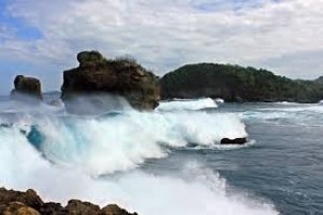 Rute Jalan Menuju Pantai Selok Malang 10 Foto Alamat Lokasi