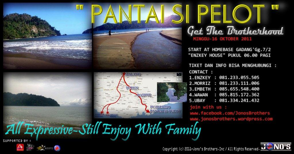 Event Sipelot Beach Jono Brothers Pantai Coban Kab Malang
