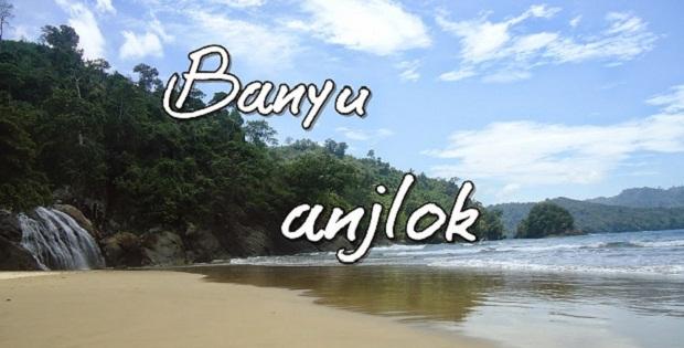 Pantai Banyu Anjlok Wisata Air Terjun Unik Malang Selatan Sipelot