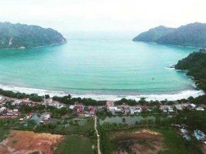 Pantai Sipelot Eksotis Malang Selatan Amazing Kabupaten Lebih Menonjol Bagian