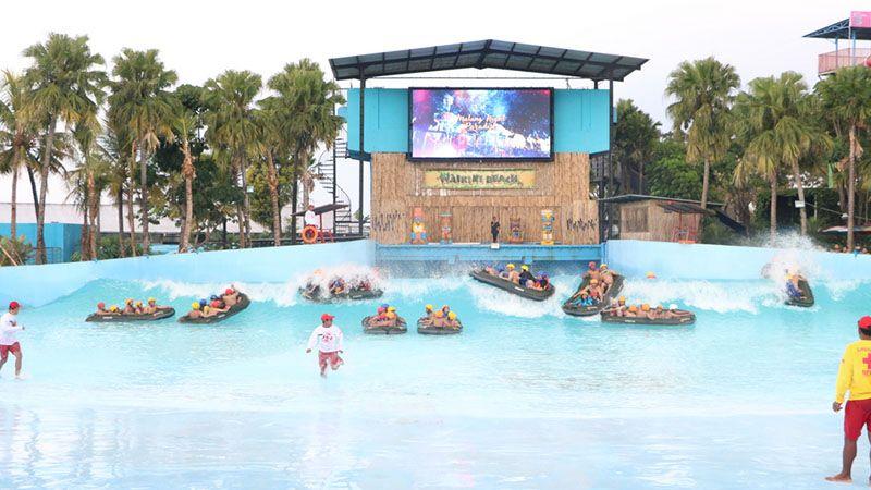Panduan Wisata Malang Sekitarnya Pikniek Kota Hawai Water Park Taman