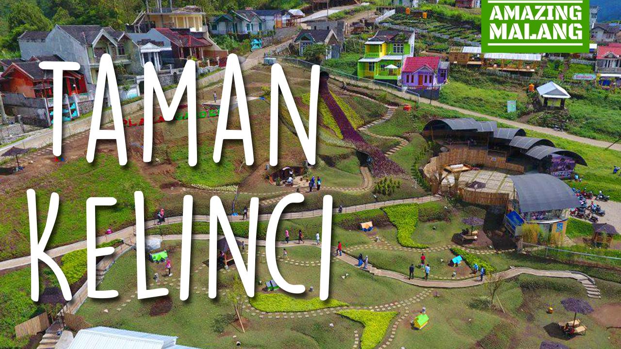 Taman Kelinci Rumah Hobbit Batu Malang Jawa Timur Youtube Air