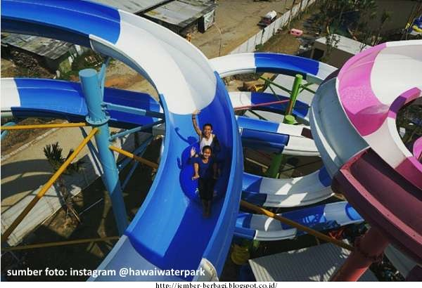 Wisata Hawai Waterpark Terbaru Malang Water Park Taman Air Kab