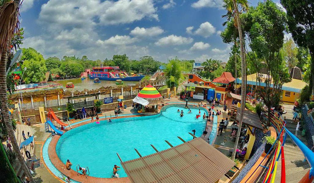 Wisata Sengkaling Malang Taman Rekreasi Food Festival Malangpers Air Hawai
