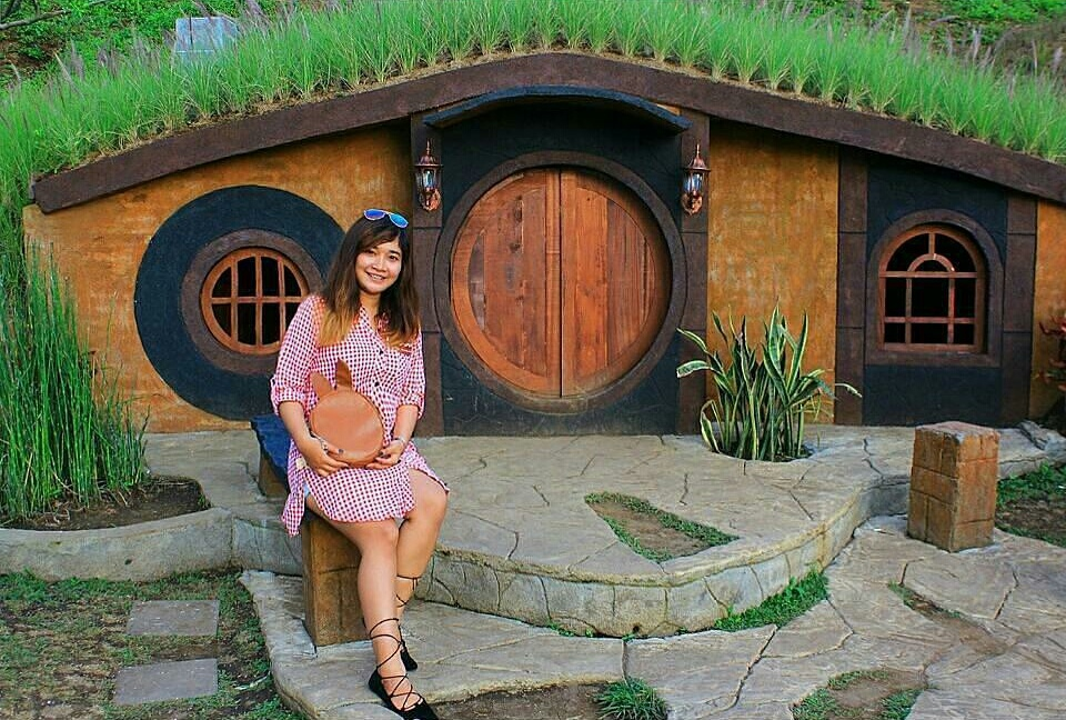 Rumah Hobbit Taman Kelinci Malang Terletak Kawasan Wisata Pegunungan Tepatnya