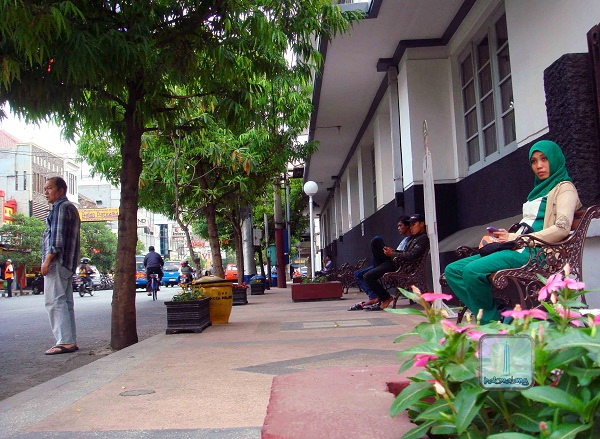 Foto Suasana Area Pedestrian Jl Sw Pranoto Kota Malang Lain