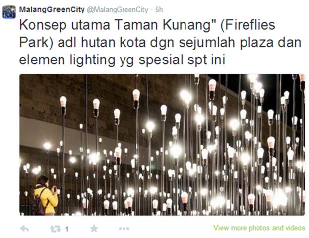 Malang Batu Projects Development Page 517 Skyscrapercity Taman Kunang Fireflies