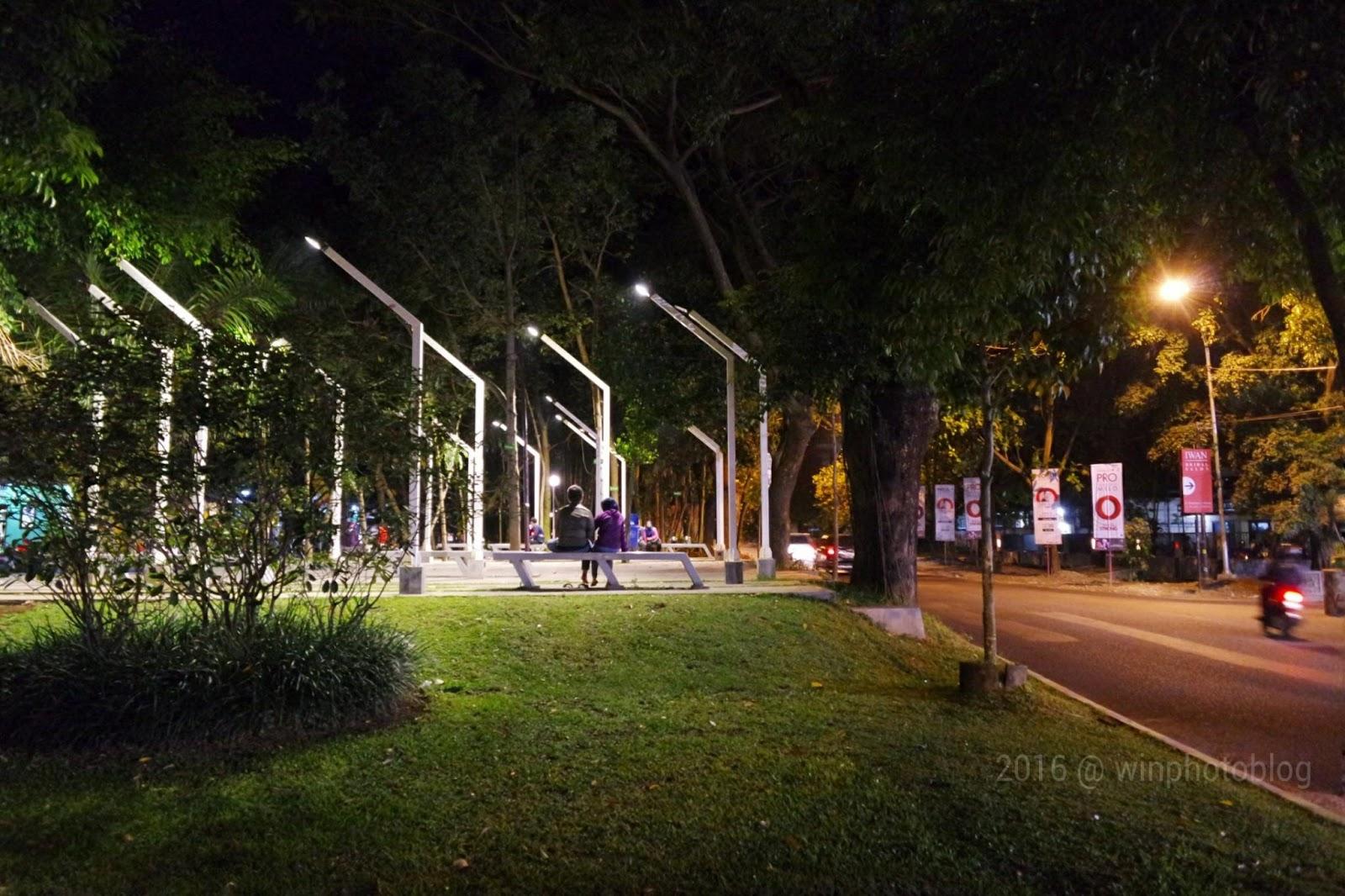 Menikmati Malam Malang Taman Kunang Catatan Wisata Kab