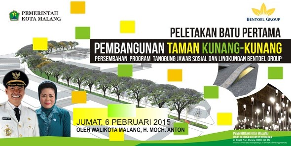 Pembangunan Dinas Perumahan Kawasan Permukiman Kota Malang Press Release Peletakan