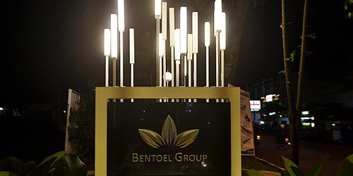 Pesona Kecantikan Taman Kunang Keindahan Malam Kota Malang Kab