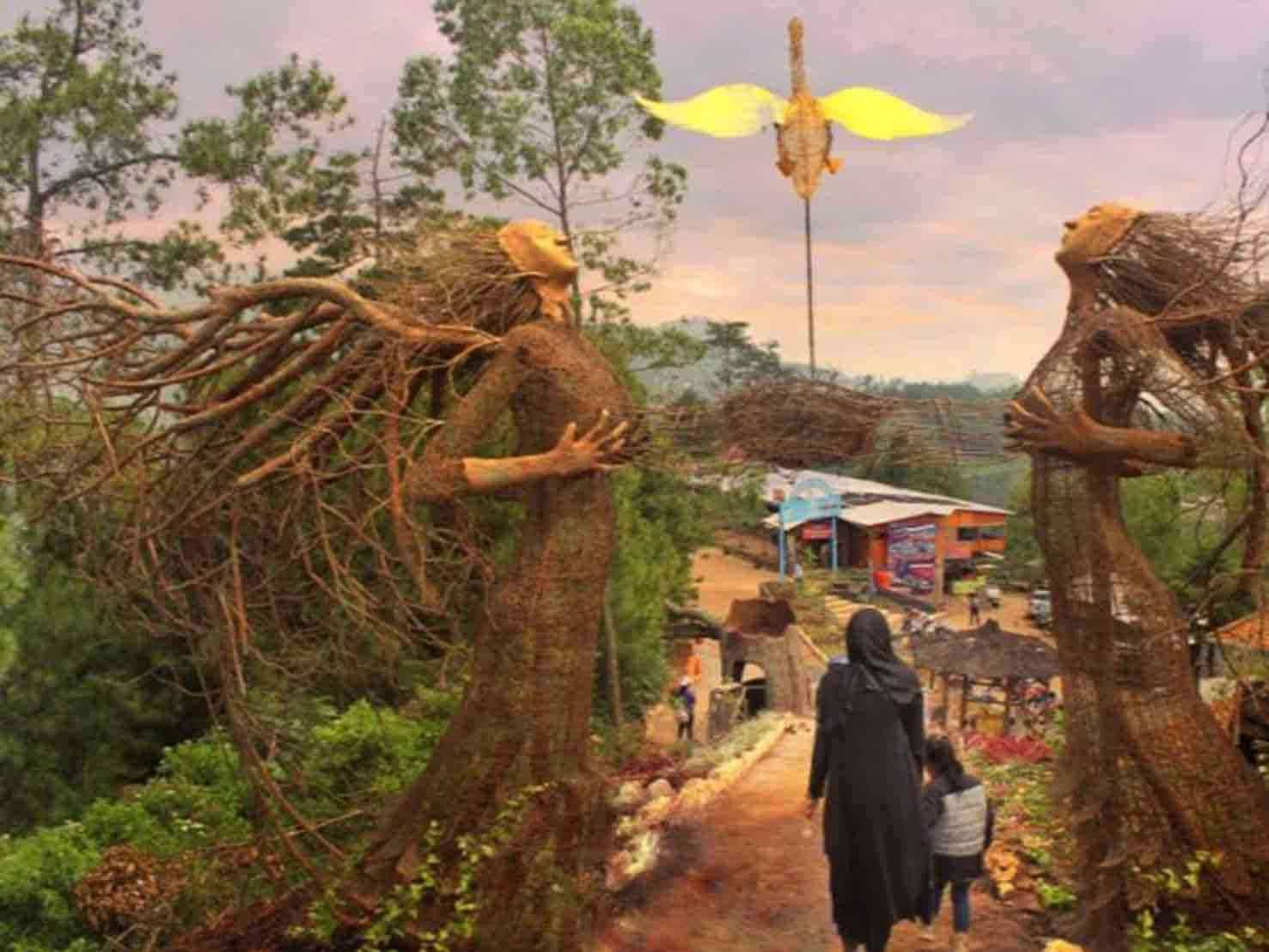 Taman Langit Wahana Wisata Kota Batu 1 2017 2018 2019