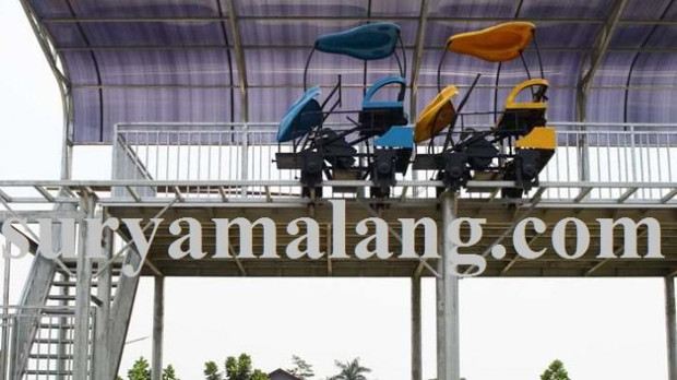 Arena Sepeda Udara Taman Singha Merjosari Dibuka Sebelum Akhir Pemkot