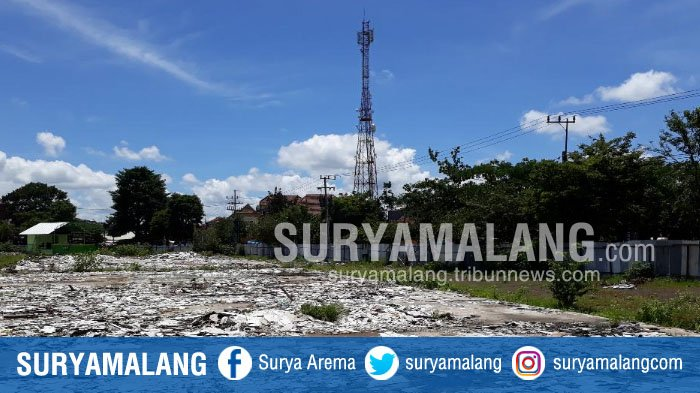 Bekas Pasar Penampungan Merjosari Kota Malang Tak Berfungsi Surya Taman