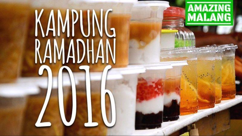 Fasilitas Taman Merjosari Amazing Malang Kampung Ramadhan 2016 Kab