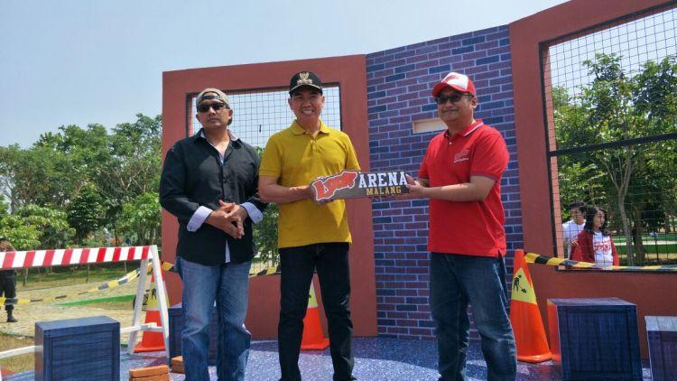 Kian Lengkap Loop Arena Dibangun Taman Singha Merjosari Wali Kota