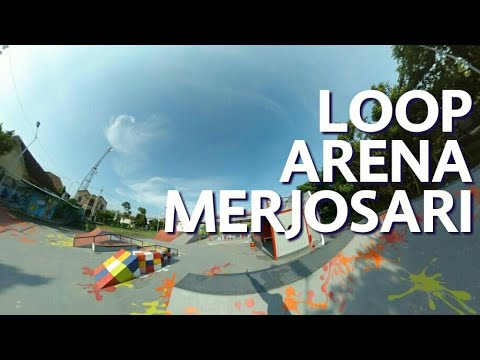 Loop Arena Taman Merjosari Betah Main Skateboard Bmx Basket Video
