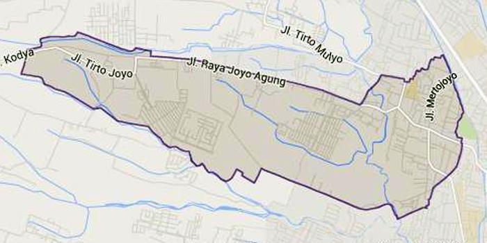 Profil Kelurahan Merjosari Kecamatan Lowokwaru Kota Malang Ngalam Peta Taman