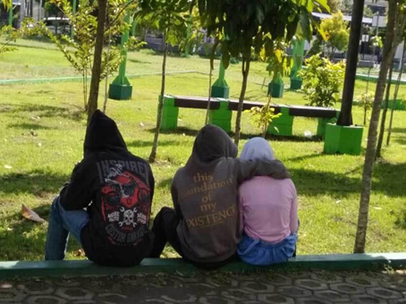 Taman Merjosari Kota Malang Dibuat Bercumbu Kids Zaman Terciduk Kab