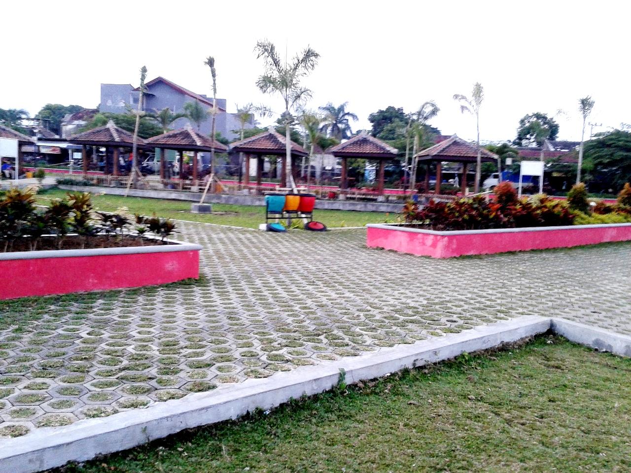 Taman Merjosari Malang Haya Zone Suasana Kab