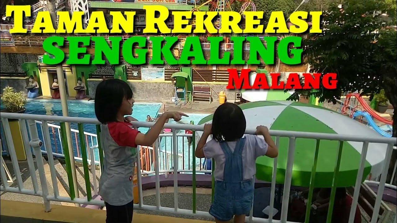 Taman Rekreasi Sengkaling Malang Part 1 Youtube Tlogomas Kab