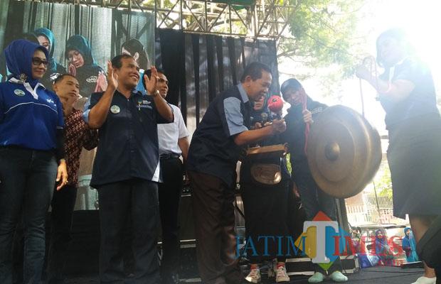 Kabupaten Malang Launching Gerakan Masyarakat Hidup Sehat Jatim Sekda Didik