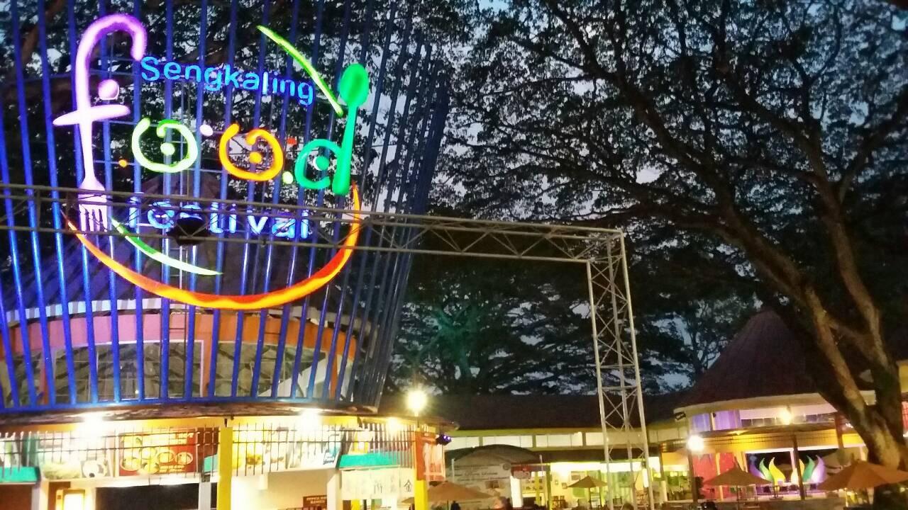 Taman Rekreasi Sengkaling Lailatulhanifahth Food Festiva Kab Malang