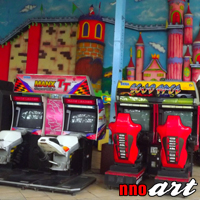 Wisata Sengkaling Malang Taman Rekreasi Food Festival Nnoart Permainan Kab