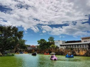 Yuk Berlibur Taman Rekreasi Sengkaling Malang Amazing Slogan Wisata Air