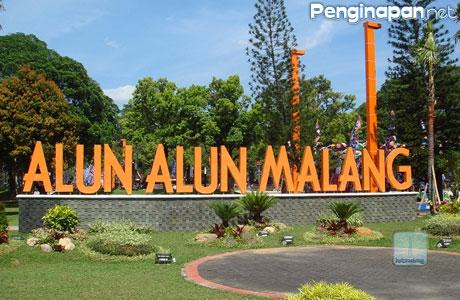 9 Taman Keren Kota Malang Penginapan Net 2018 Alun Merdeka