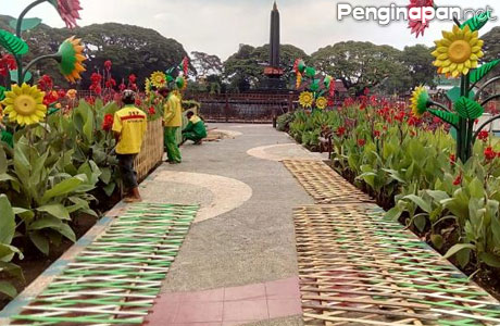 9 Taman Keren Kota Malang Penginapan Net 2018 Alun Tugu