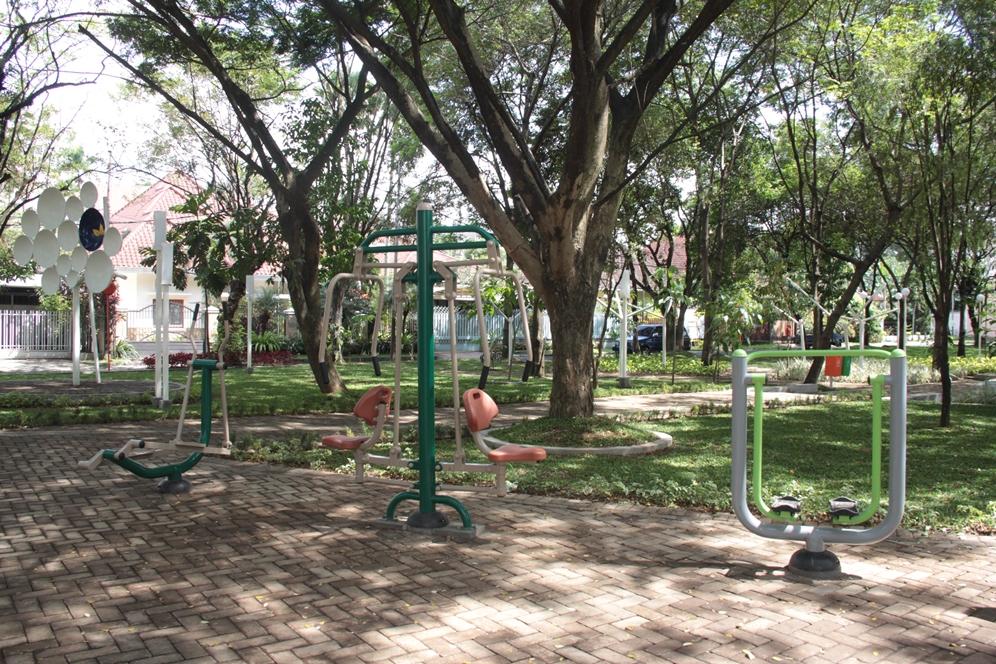 Malang Merdeka Merasakan Rindang Indahnya Taman Slamet Permainan Bisa Dimanfaatkan