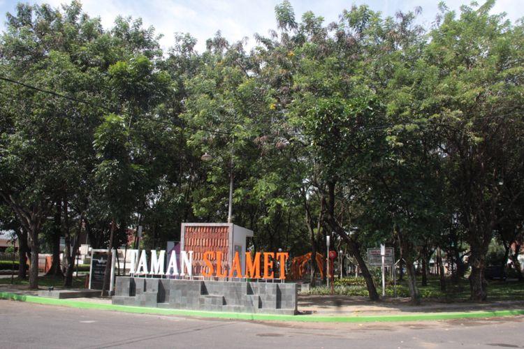 Malang Merdeka Merasakan Rindang Indahnya Taman Slamet Reporter Rizky Wahyu