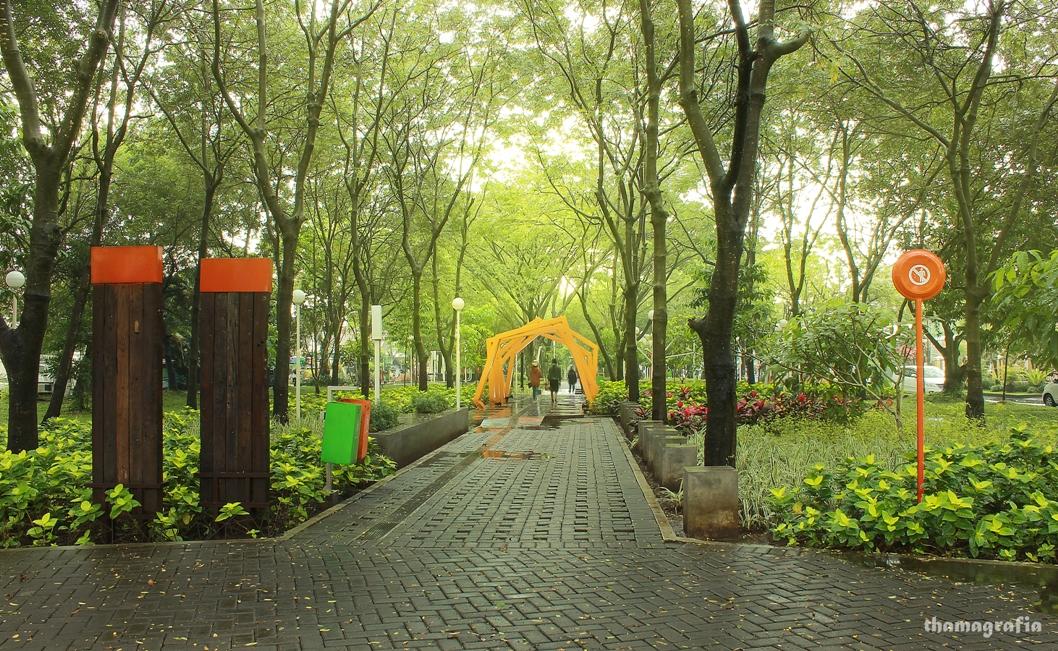 Taman Slamet Kesejukan Tengah Hiruk Kota Malang Mbois Trek Lari