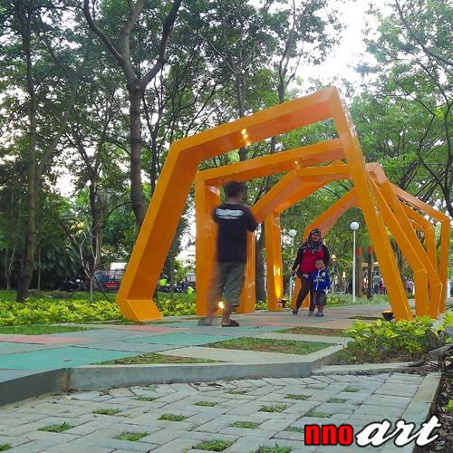 Taman Slamet Malang Surga Tersembunyi Tengah Kesibukan Kota Lorong Menggambarkan