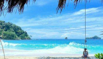 Antara Pantai Mbehi Rante Wulung Teluk Bidadari Malang Selatan Tersembunyi