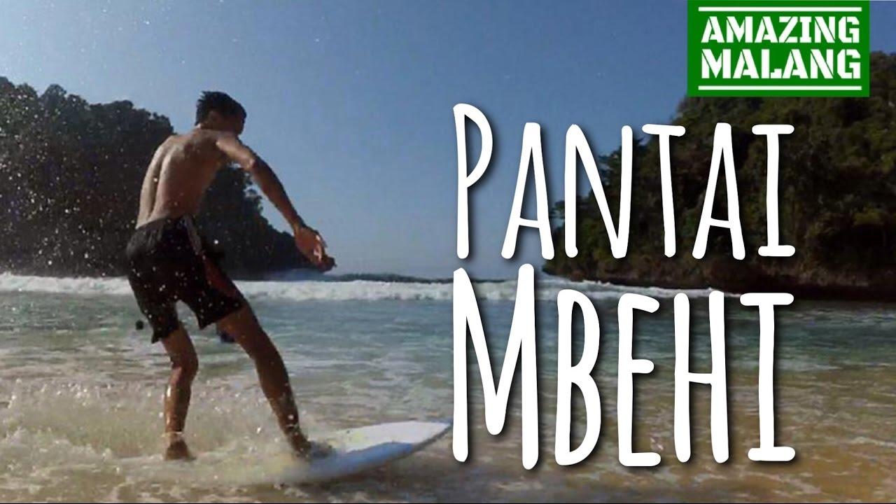Mbehi Beach Malang Wisata Pantai Jawa Timur Youtube Teluk Bidadari