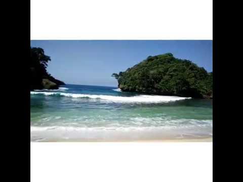 Pantai Mbehi Surga Tersembunyi Malang Youtube Teluk Bidadari Kab