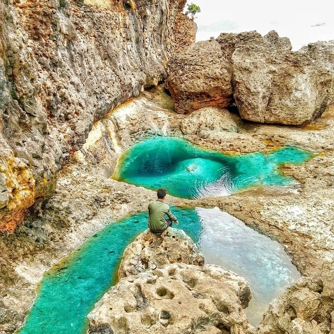 Teluk Bidadari Wisata Alam Memesona Kota Batu Sportourism Id Pantai