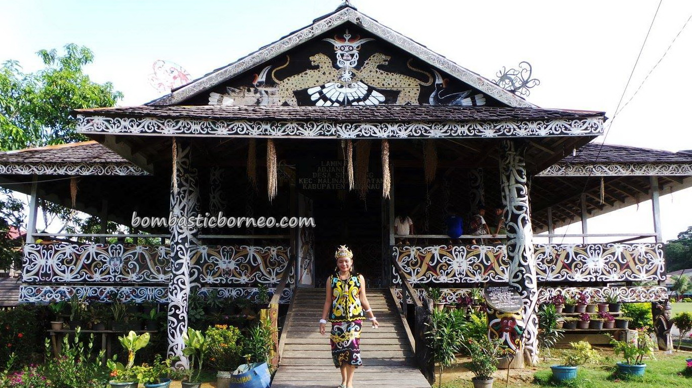 Dayak Kenyah Desa Setulang North Kalimantan Utara Indonesia Authentic Borneo