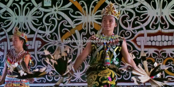 Dayak Kenyah Desa Setulang North Kalimantan Utara Indonesia Malinau Part